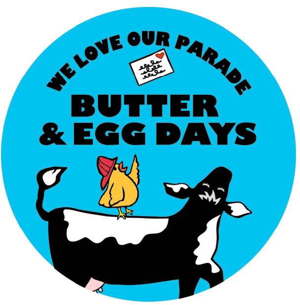 butter and eggs button