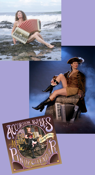 accordion babes roxanne and mags and cover photo