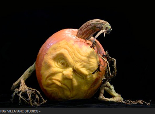 one of villafane s pumkins