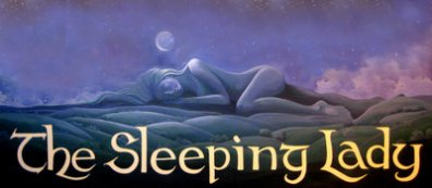sleeping lady cafe logo