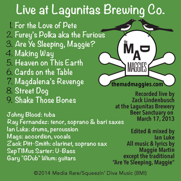 live at lagunitas album cover