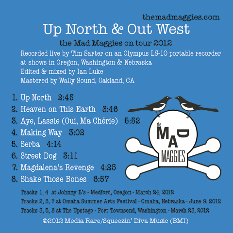 front cover of up north & out west