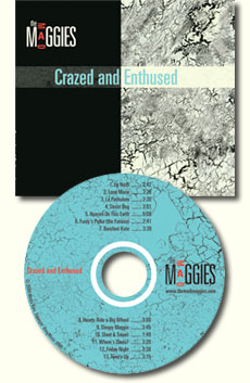 crazed and enthused cd cover