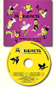 magdalena's revenge cd cover and disc art