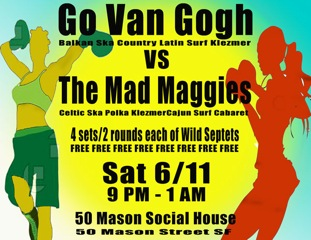 50 Mason Social House with Go Van Gogh