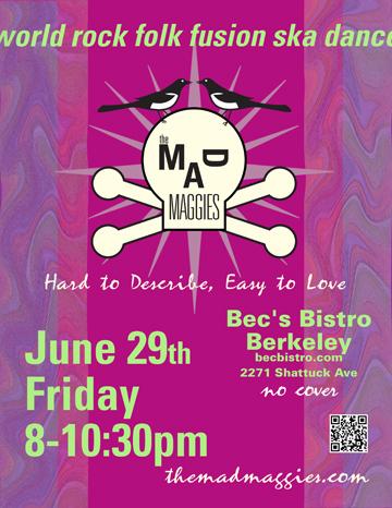 becs bistro june 29 2012 poster