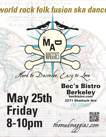 becs bistro poster may 25 2012