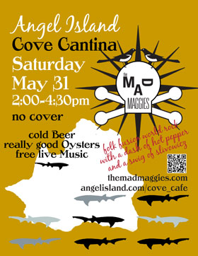 cove cantina poster