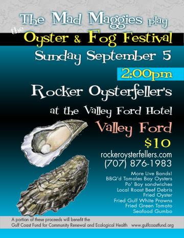 oyster & Fog poster