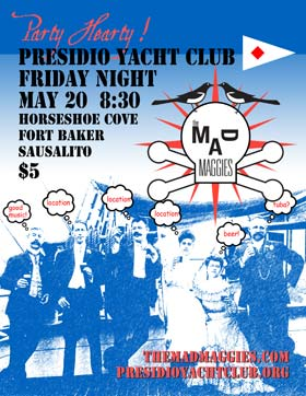 presidio yacht club poster