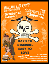 halloween party at sleeping lady 2011