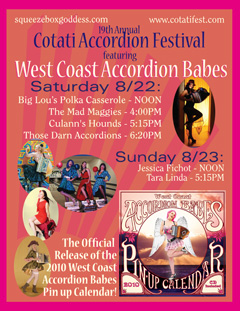 west coast accordon babes at Cotati