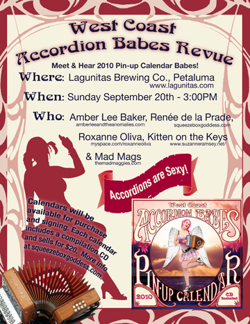 Accordion Babes Revue Poster