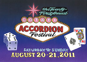 cotati accordion fest poster
