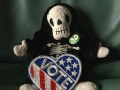 Death says Vote like your life depends on it.