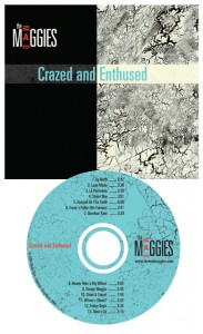 crazed and enthused cover and cd