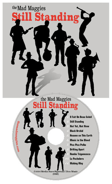 still standing cover &  cd