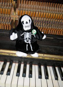 death on piano