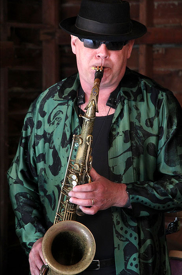 Sax Man Ray on National Saxophone Day