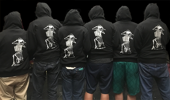 New Hoodies!  All Aglow